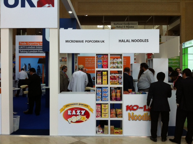 Kohlico at the Gulfood Conference in Dubai